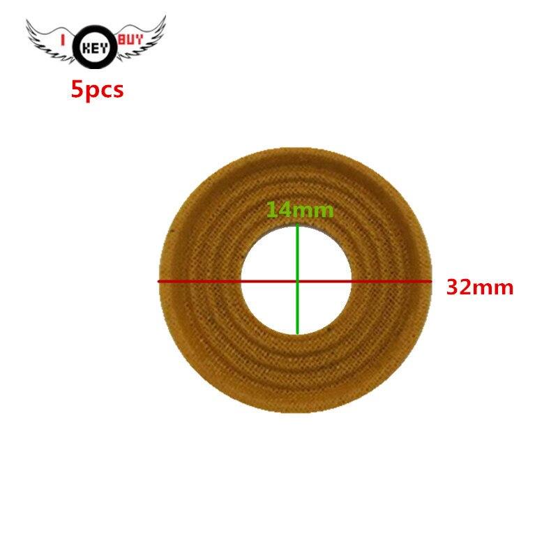 I KEY comprar 5 piezas Tweeter Speaker Spring Pads pie plano 32 MM 14 MM 2 MM tela de araña amortiguador accesorios de reparación
