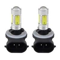 2pcs 881 high power cob led fog driving light lamp bulbs for polaris ranger sportsman 300 400 450 500 600 fog lamp