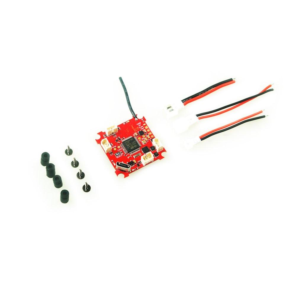 Crazybee pequeno betaflight f3 controlador de vôo fc com receptor frsky dsm2/blheli_s esc/osd/medidor de corrente para rc whoop corrida zangão