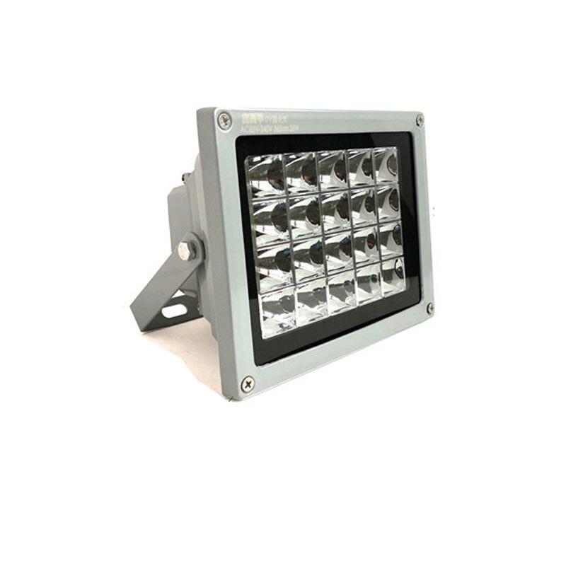 Lámpara de curado de pegamento sin sombras de led UV de alta potencia de 175W, 365nm, 395nm, 405nm, UV sensible a la luz, pantalla de teléfono móvil, luz de exposición LED