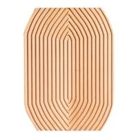 creative breadboard tray rounddiamondsquare wooden bread plate dessert decor