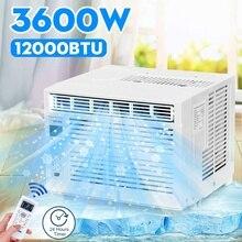 3600W bureau climatiseur 12000BTU refroidissement à froid 220V/AC 24 heures minuterie avec télécommande LED panneau daffichage climatiseur