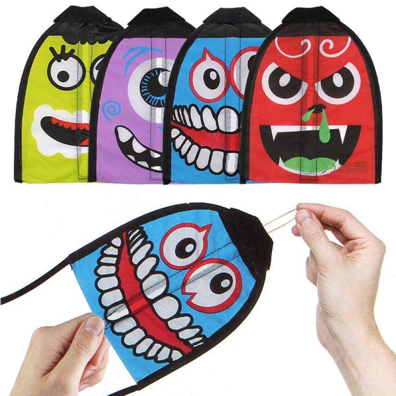Juguetes creativos de Mini cola de dibujos animados de 55cm, accesorios de cometa de catapulta, juguetes coloridos para niños, juguetes deportivos divertidos al aire libre, cola de cometa para Kit Delta
