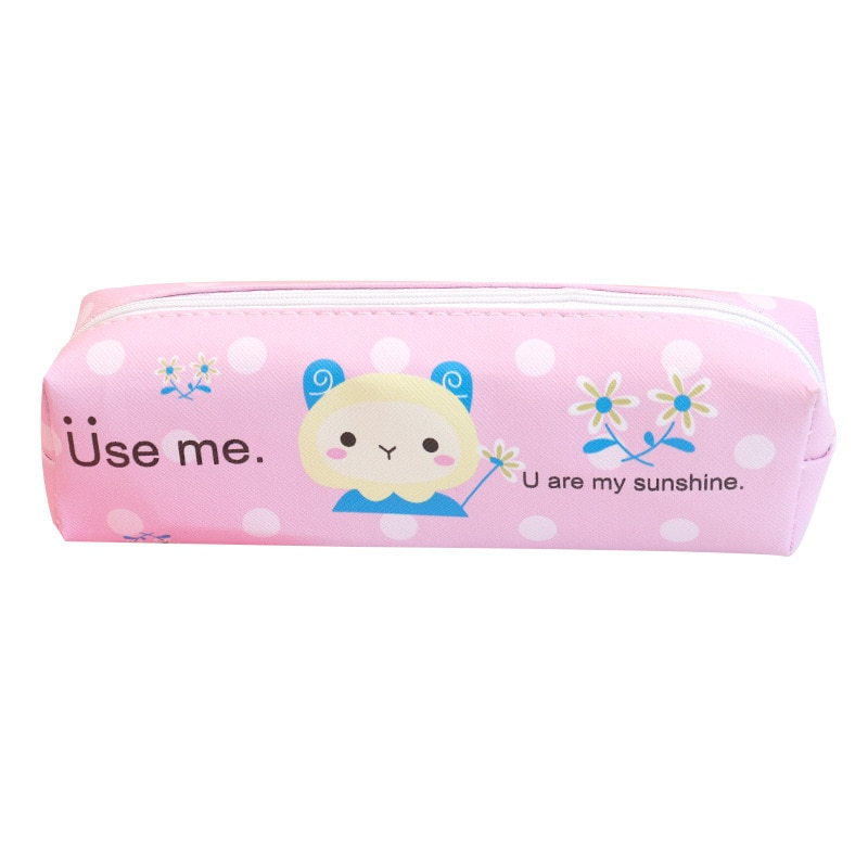 Creative Pencil Case Simple Animal Student Stationery Storage Stationery Bag Men and Women Stationery Box Pencil Bag Canvas Bag 24 holes pencil bag vintage canvas pencil case sketch pencil art brush storage bag students stationery