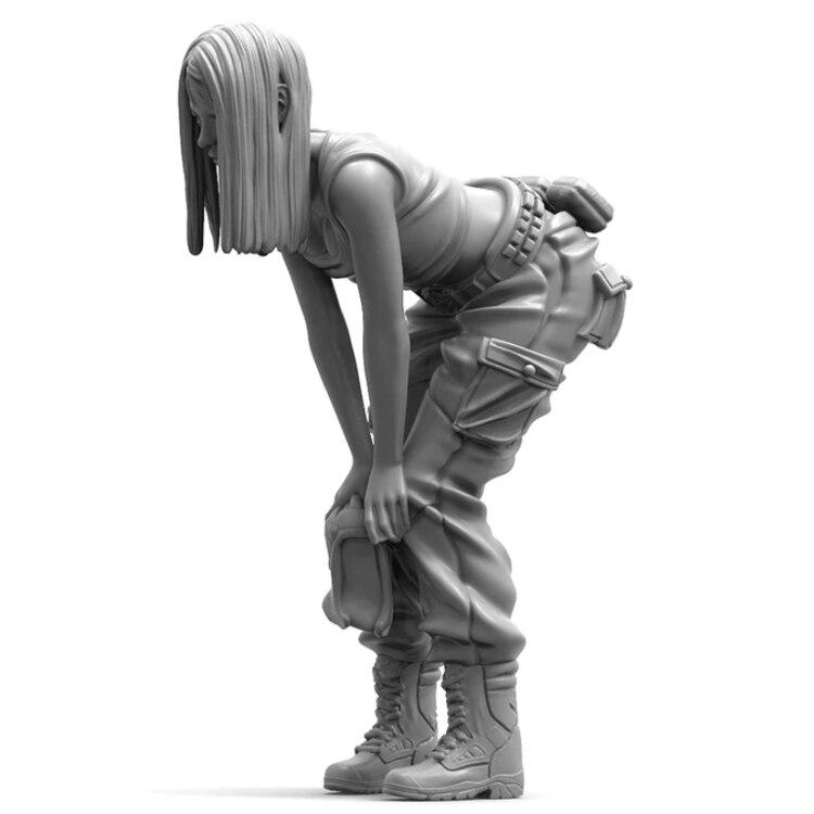 Масштаб 1/35 Неокрашенная фигурка из смолы собирающая фигуру Urbana Наборы для сборки