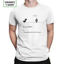 Dino Code T-Shirts für Männer Geek Mathematik Gleichung Nerd Programmierung Baumwolle Stoff T Shirt Kurzarm T Hemd 3XL Kleidung