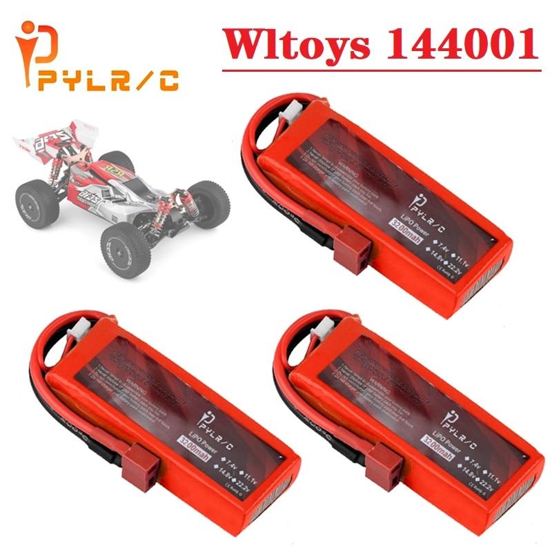 7.4V 3200mah Lipo Battery for Wltoys 1:14 144001 RC Car toys Parts Battery for RC Car Wltoys 144001