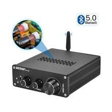 BRZHIFI 6J5 Vakuum Rohr Vorverstärker Bluetooth 5,0 Elektronenröhre Stereo Pre-verstärker Mit Ton Ajustment Für Sound Verstärker