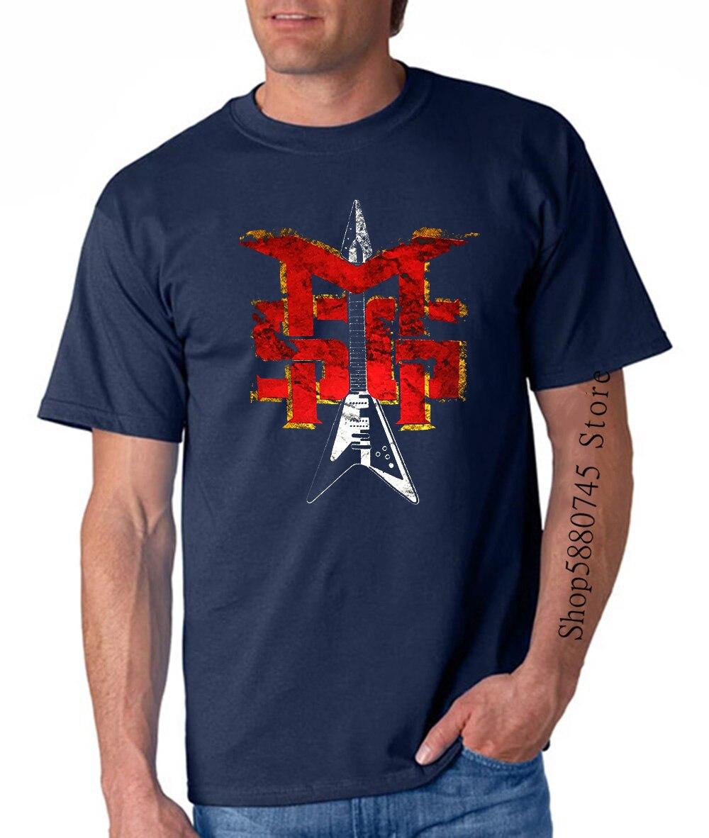 Michael Schenker Group camiseta Cool Black Classic Rock camiseta de banda 1A097 imprimir camisetas hombres