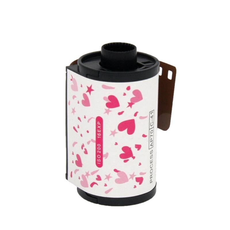 Film dimpression couleur Durable, bel emballage adapté à la caméra avec des cadeaux comme objets de collection
