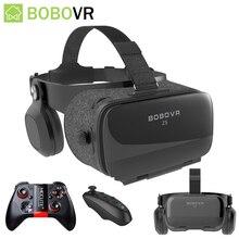 Bobo Bobovr Z5 casco VR gafas de realidad Virtual 3D gafas casco para Smartphone teléfono inteligente Viar binoculares videojuego