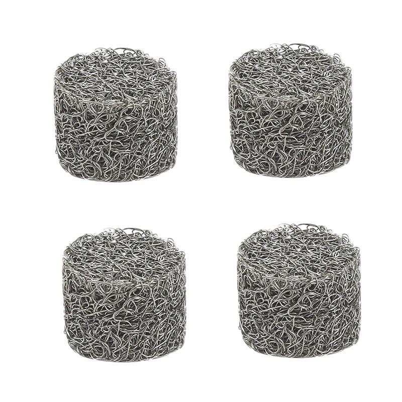 4Pcs Stainless Steel Pressure Car Washer Foam Lance Mesh Filter Replacement Foam Sprayer Mesh Filter