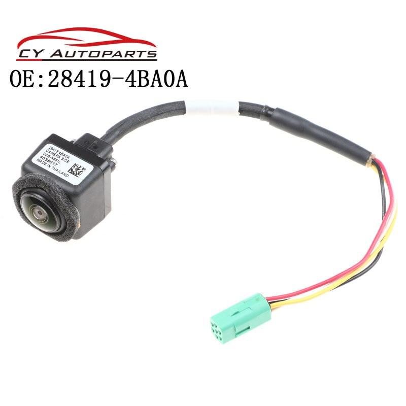 Nueva cámara de visión lateral compatible con Nissan Juke Murano Note Pulsar Quest Qashqai 28419-4BA0A 284194BA0A VCB-N551L VCB-N551C
