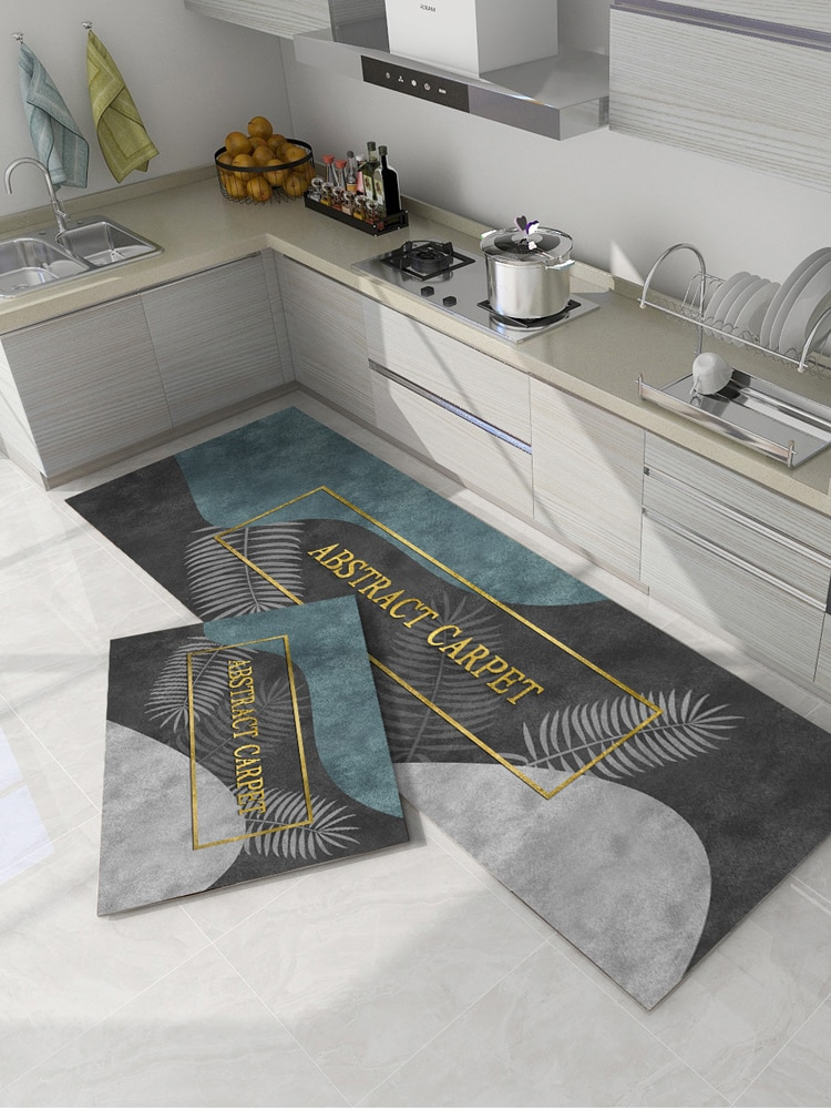 المطبخ خاص الكلمة حصيرة ماصة مكافحة النفط القدم حصيرة المتاح امتصاص النفط عدم الانزلاق المنزلية حصيرة مقاوم للماء مقاومة للبقع