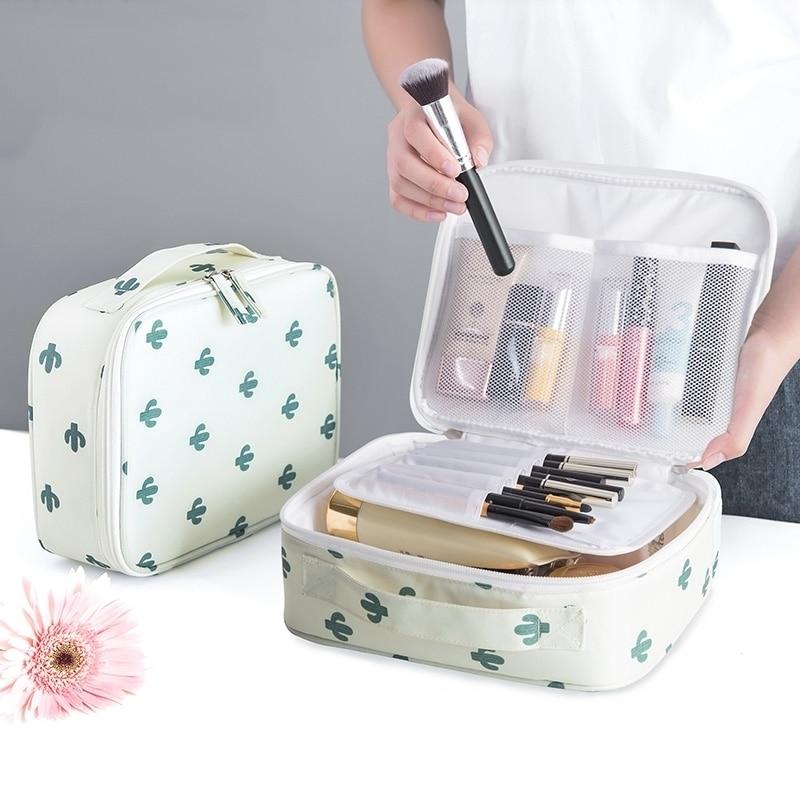 Outdoor Girl Makeup Bag Women Cosmetic Bag Women Toiletries Organizer Waterproof Female Storage Make