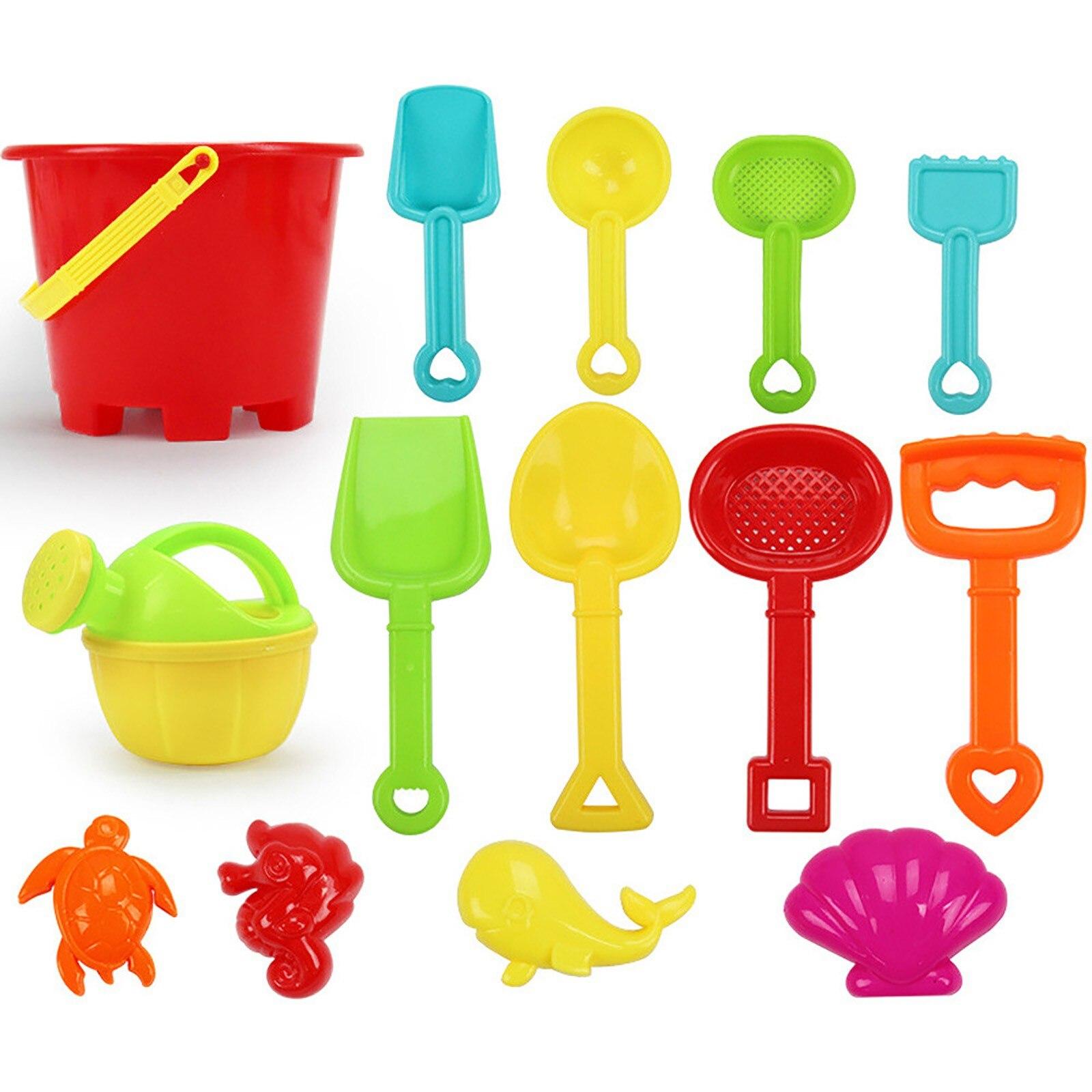 2021 игрушки для детей 14 шт. набор инструментов для пляжа игра с песком игрушки дети забавные водные пляжные приморские Инструменты подарки игрушки для детей # L4 Пляжные/песочные игрушки      АлиЭкспресс