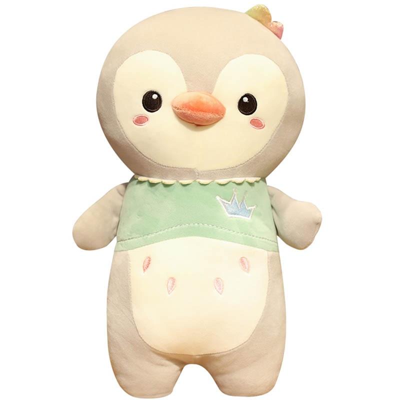 New Hot Huggable Nice Penguin Plush Animal Toy Doll Children's Penguin Stuffed Toy Pillow Baby Sleeping Doll Kids Birthday Gifts недорого
