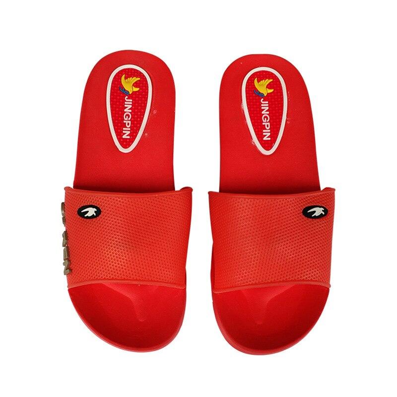 Nouvelle mode dété sandales femmes sandales pantoufles belles chaussures sandales rouges