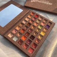 40 color eye shadow palette waterproof eye shadow palette with potatoes and sequins
