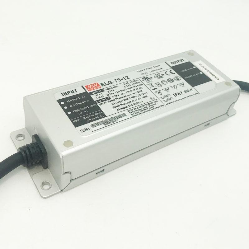 UL IP67 75W 100W 150W 200W MeanWell Светодиодный драйвер адаптер AC110V 220V 240V К DC 12V 24V водонепроницаемый трансформатор питания