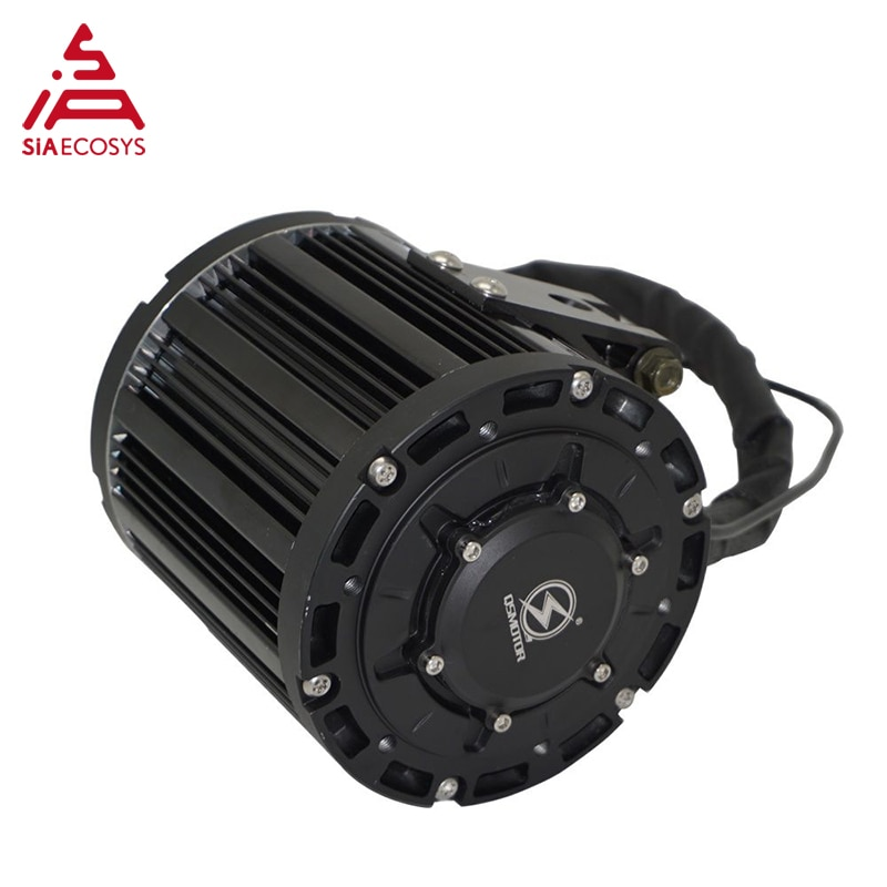 QS Motor 4000W 138 90H Mid Drive With EM72150SP sin wave controller kits for Motorcycle 72V enlarge