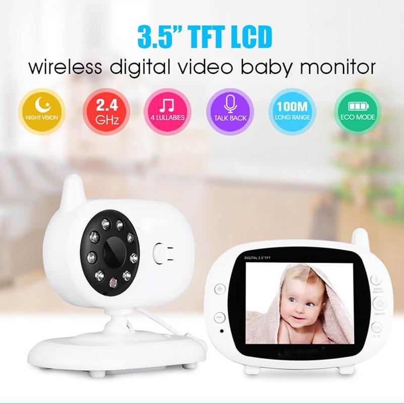 مراقبة الطفل مع كاميرا 960P HD فيديو الطفل النوم مربية كام اتجاهين الصوت للرؤية الليلية أمن الوطن كاميرا Babyphone