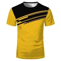 mens fashion cool round neck short sleeve 3d fast drying rally clothing personalized logo mens outdoor leisure sports t shirt