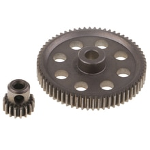 1/10 RC Car Parts Replacement 11184 Motor Pinion Gear 17T 64T for HSP