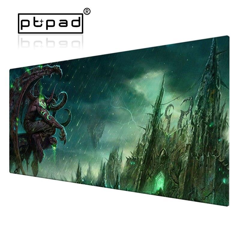 800*300*2mm grandes mundos de jogos xl de warcrafts bloqueio borda computador mousepad jogo wows dragão pc mesa tapete do jogo do rato