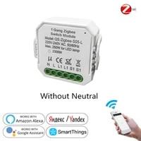 Tuya     interrupteur lumineux intelligent ZigBee 3 0  Module relai  Smart Life  application Tuya  telecommande  minuterie  relai vocal  Google Home  Alexa