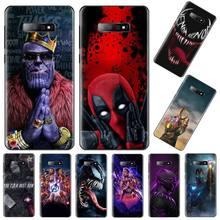 Marvel Avengers captain ironman thanos Cover Shell Phone Case For Samsung Galaxy S5 S6 S7 S8 S9 S10 S10e S20 edge plus lite