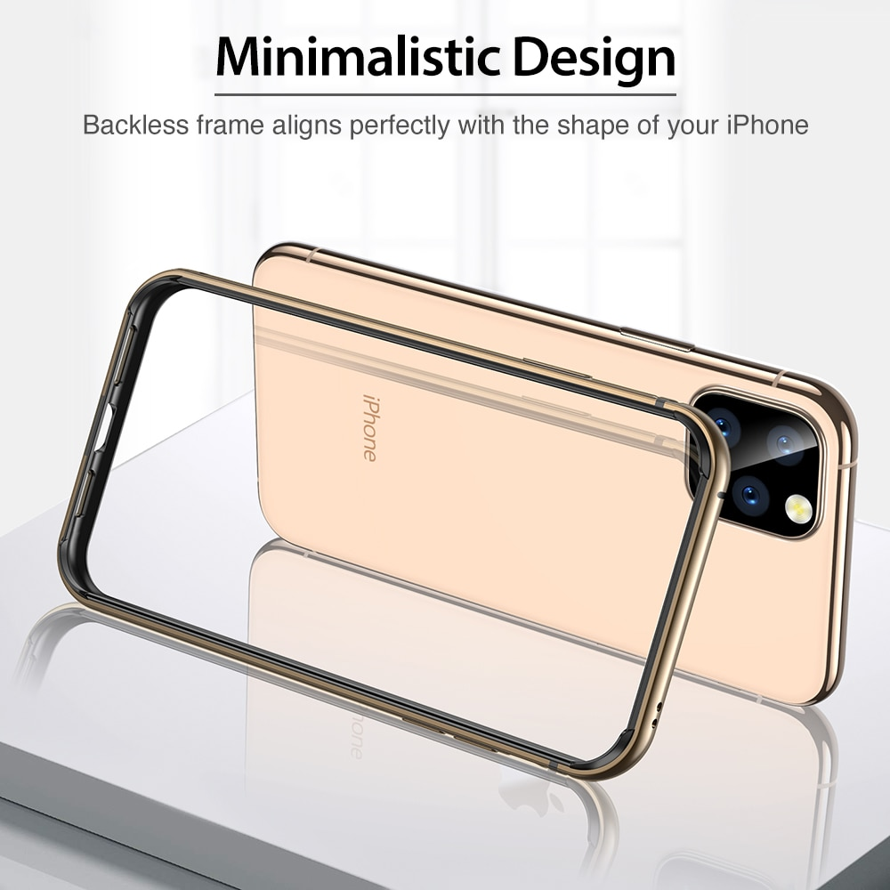 ESR for iPhone 11 Case Bumper for iPhone SE 2020 XS X Case Luxury Metal Bumper Anti-knock Cover for iPhone 11 Pro XR Case Funda enlarge