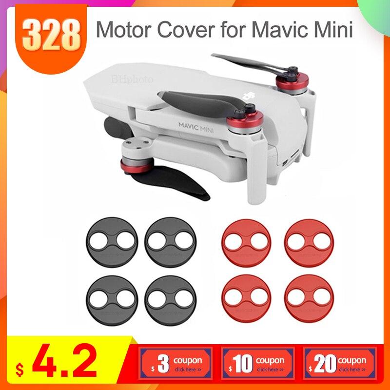 4 шт. аксессуары для DJI Mavic Mini Защитная крышка двигателя для Mavic Mini Drone алюминиевая крышка защита двигателя защита от пыли