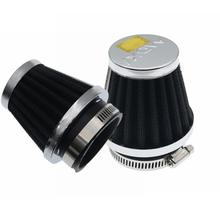 Eonstime 1 pièces 35mm 39mm 48mm 50mm 52mm 54mm 60mm moto filtre à Air pince-on filtre à Air nettoyant pour Honda Kawasaki Suzuki