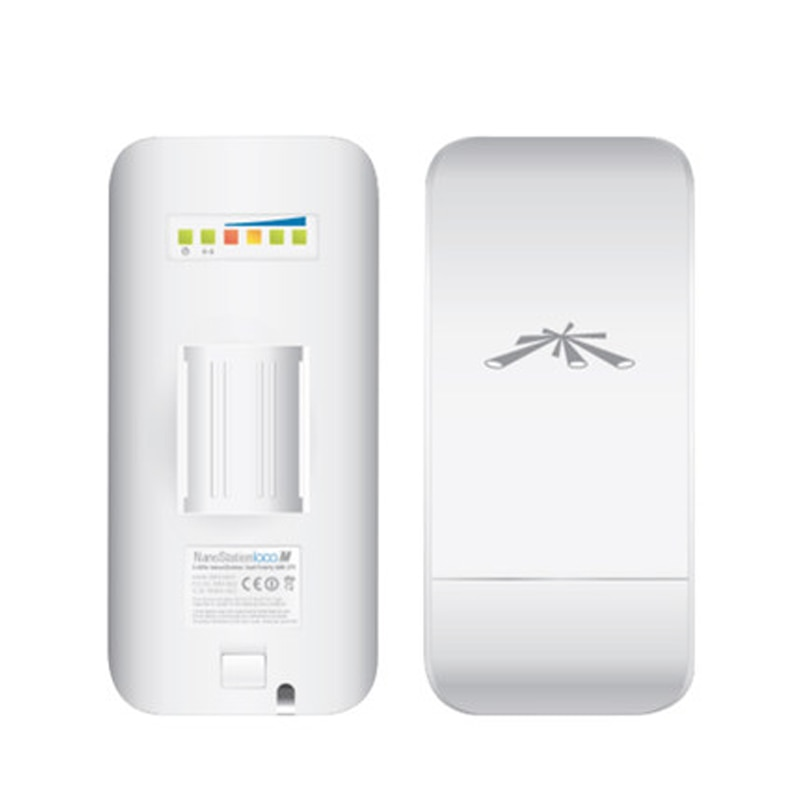 Фото - Ubiquiti NanoStation locoM2 2.4GHz WiFi Network Bridge airMax loco M2 CPE Within 2KM (Only 1 Pack, Must be used with 2 Packs) be only
