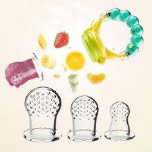 Chupete de frutas frescas para bebé, mordedor de silicona, alimentador de alimentos frescos, piezas de mordedor, 5 uds.
