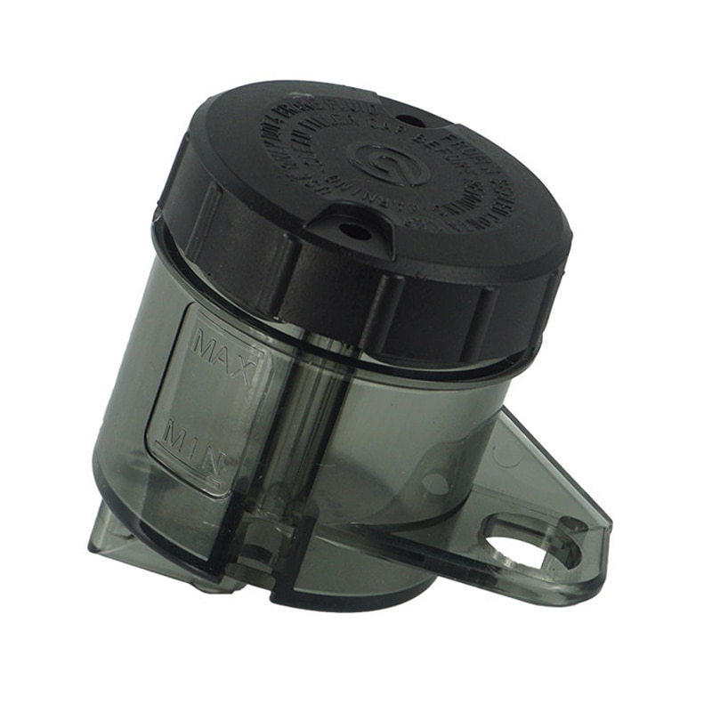 universal car oil catch can tank with breather compact dual cylinder polish baffled engine air oil separator tank reservoir kit Black Universal Motorcycle Front Brake Fluid Reservoir Push Up Clutch Tank Oil Fluid Cup Split Oil Pot