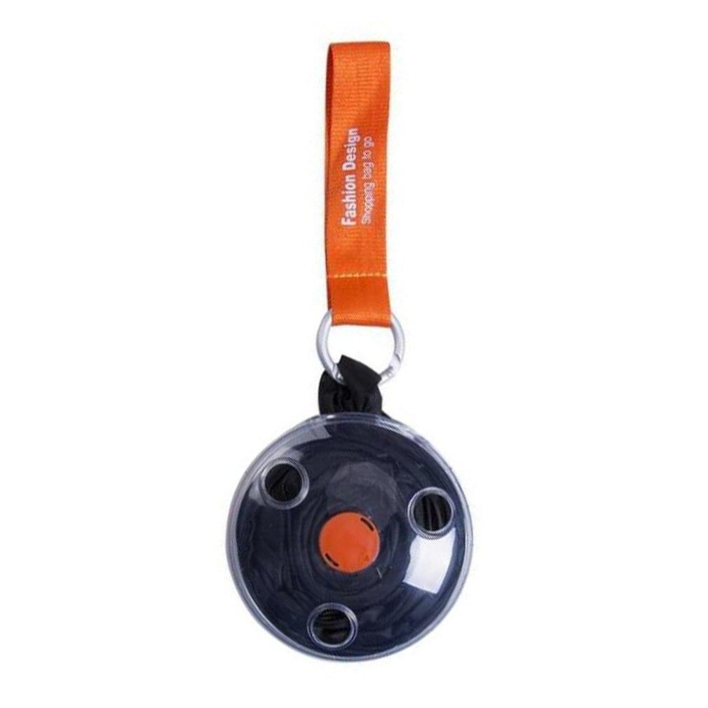 Bolso de compras portátil plegable pequeño disco mensajero telescópico plegable multifunción Eco reutilizable bolso de hombro de gran capacidad