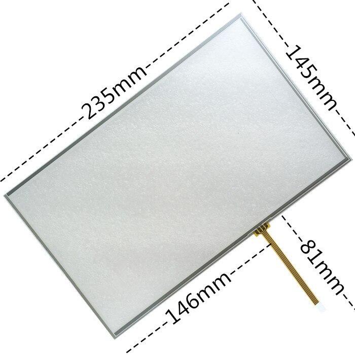 10.2 بوصة تعمل باللمس الأصلي LCD شاشة عرض كمبيوتر 10 بوصة 4-wire لوحة اللمس الصناعية الصناعية شاشة كمبيوتر تعمل باللمس