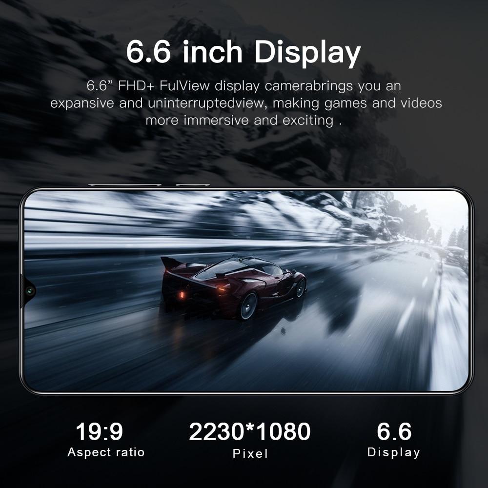 Global Version Smartphone S21 Ultra 8GB+128GB 6.6 Inch Full Screen Smartphone 18MP+48MP Camera 5000mAh Cheap Phone Fast Shipping enlarge