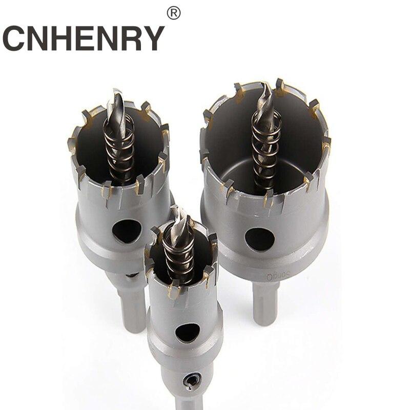 1 шт. 16-50 мм сердцевины сверло из нержавеющей стали отверстие Пила TCT карбид наконечник сверло Металл резка бурения электроинструменты
