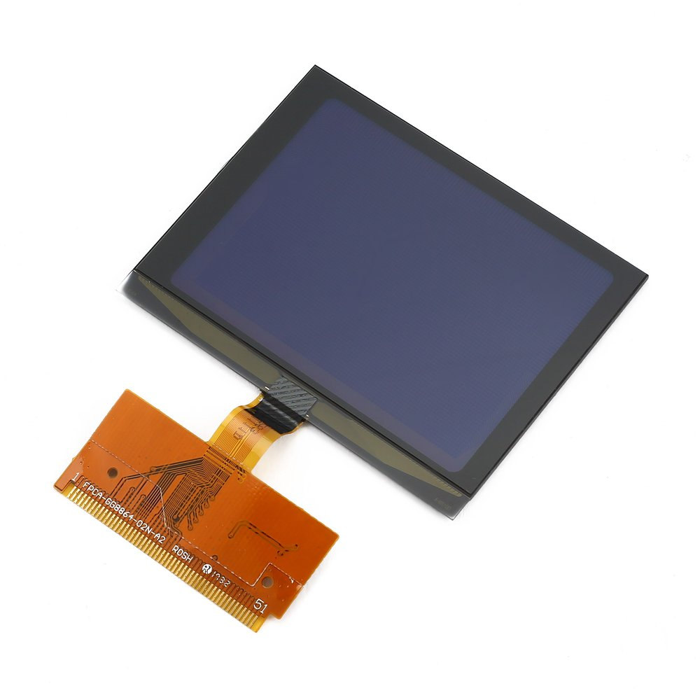 Новый автомобильный VDO стеклянный ЖК-дисплей с гибким разъемом и драйвером дисплея для Audi A3 / A4 / A6