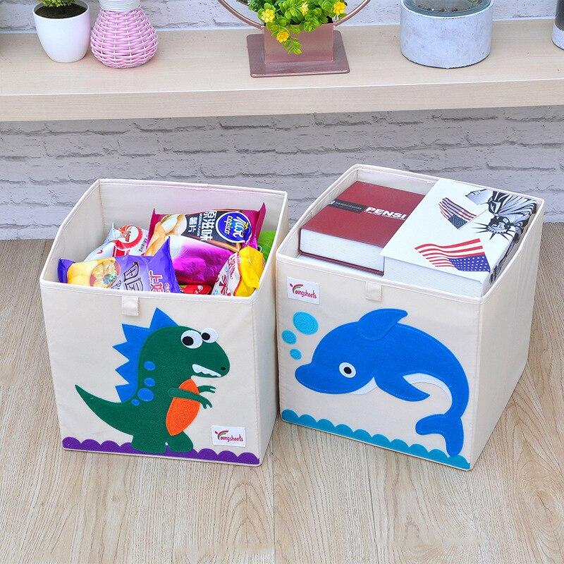 صندوق دمي المنظم صندوق تخزين للطي غسلها سلة الأطفال أكسفورد القماش خزانة N9N005B108