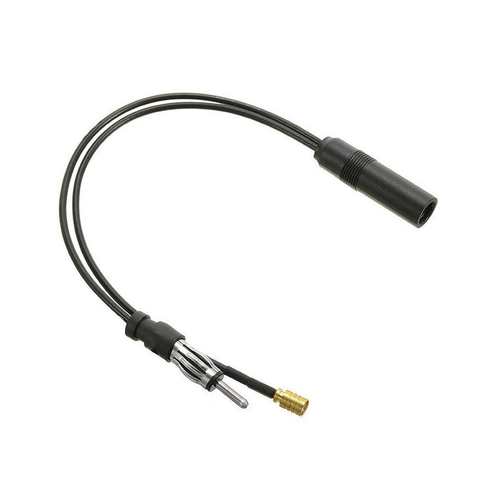 FM/AM DAB + автомобильная антенна разветвитель антенны адаптер кабель SMB конвертер аксессуар беспроводной свинцовый разъем для автомобильного ...