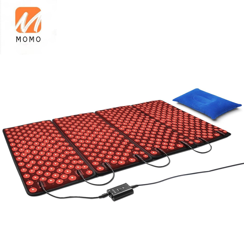 أجهزة العلاج بالضوء الأحمر 880nm بالقرب من الأشعة تحت الحمراء LED لوحة كبيرة لظهر الجسم الكتف الرقبة الورك لتخفيف الآلام في المنزل