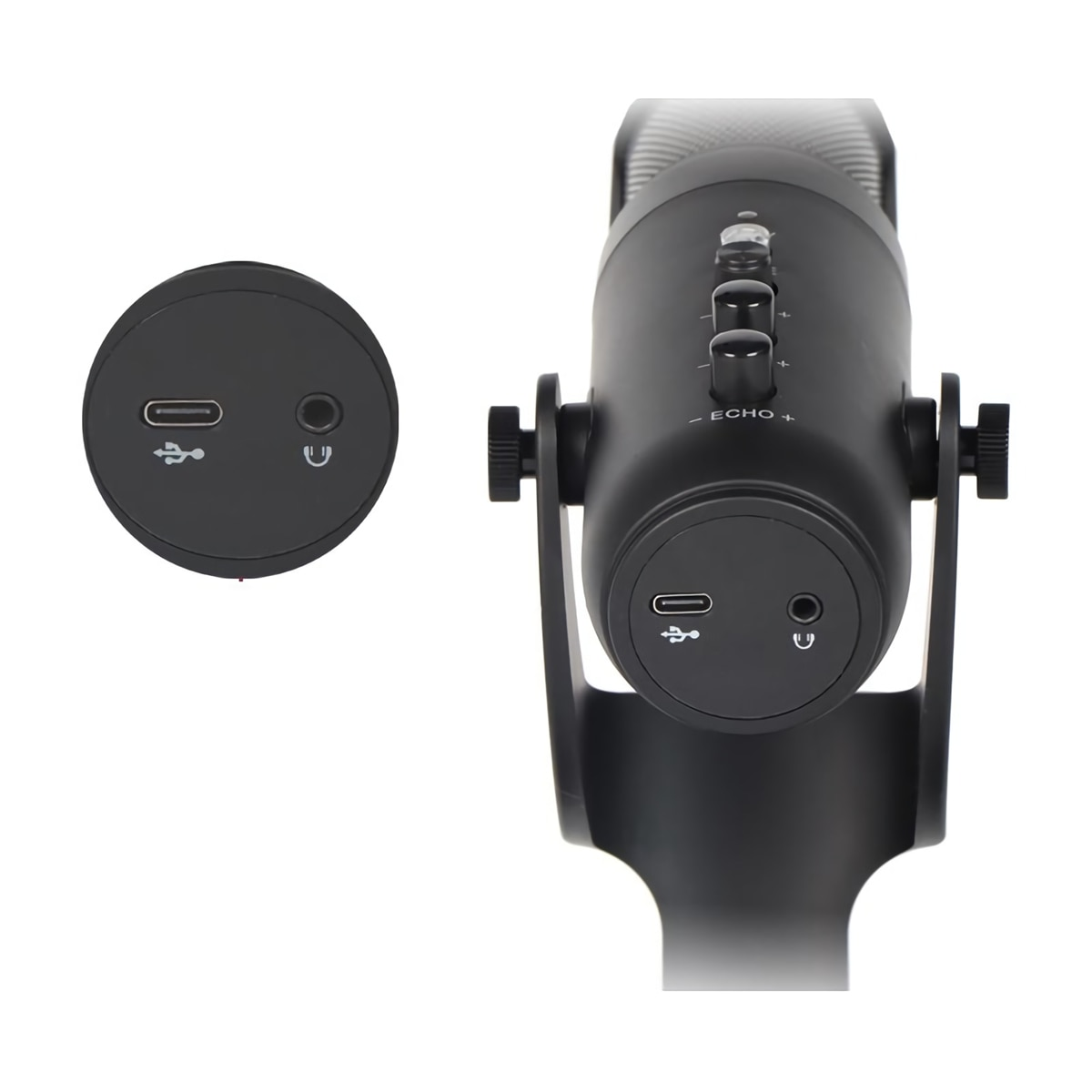 D-950 USB Microphone Stand Gaming Live Streaming RGB Light Condenser Type-C Professional Mute for Recording PC Computer Chat enlarge