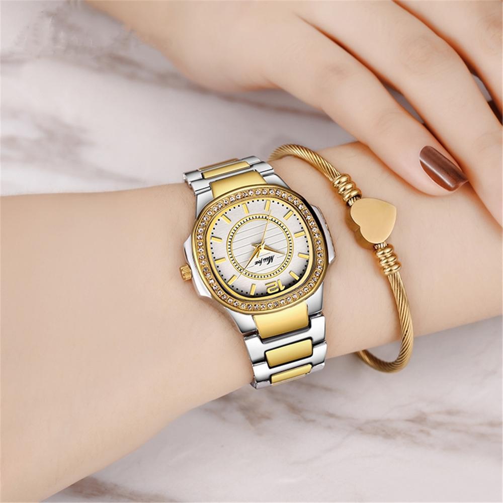 Fashion Women Watches Geneva Designer Quartz Ladies Watch Top Luxury Diamond Relogio Gold Wrist Watch Gifts Women Regarder enlarge