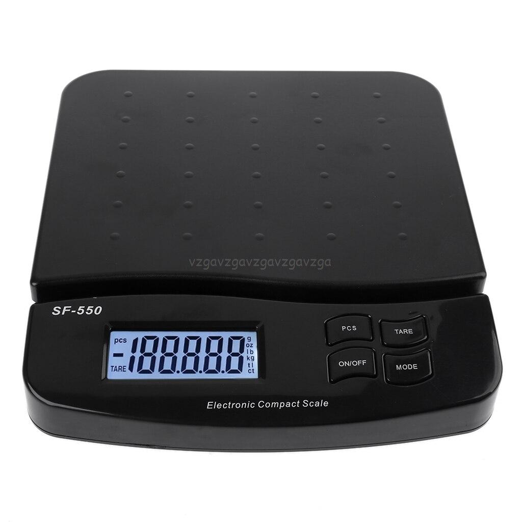 Цифровые весы для почтовых отправлений, 30 кг/25 кг/1 г, 66 фунтов/55 фунтов, электронные весы для почтовых отправлений с функцией подсчета, S21 19, Прямая поставка