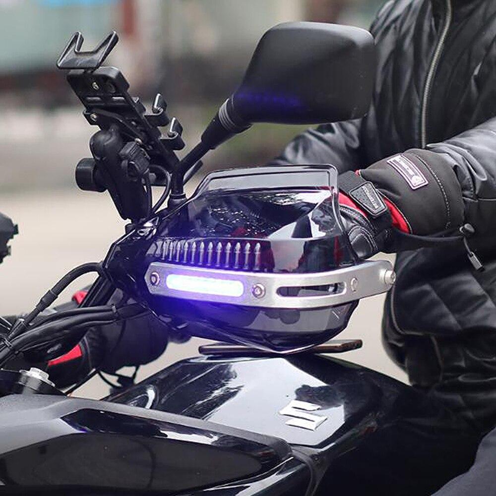 LED موتوكروس حرس اليد للدراجات النارية لحراس اليد لياماها sr 250 xt 660 دراغستار 650 تراكر 700 تينيري 700 ايروكس 50cc yzf r125