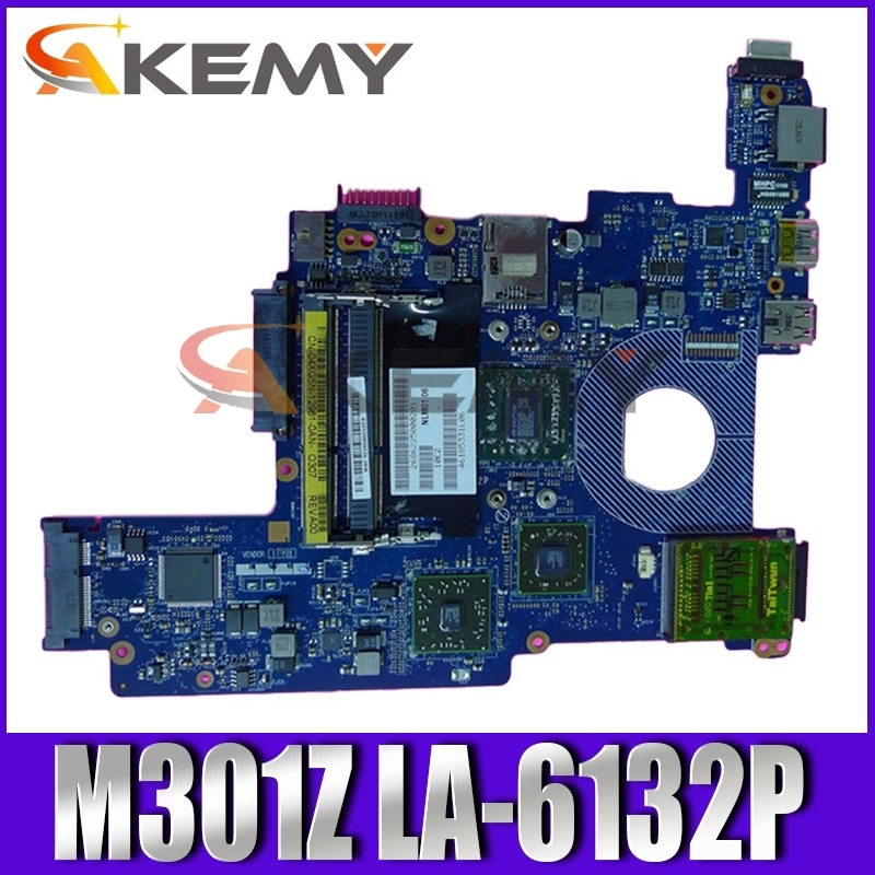 اللوحة الأم الأصلي لأجهزة الكمبيوتر المحمول ديل انسبايرون M301Z CN-02JN1J 02JN1J NLM01 LA-6132P
